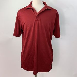 Bolle Burgundy Polo Shirt Large